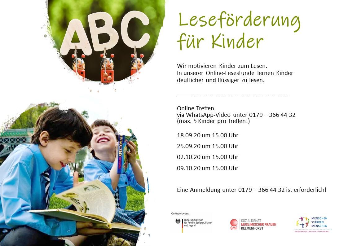 Lesen macht Spaß! – Leseförderung für Kinder