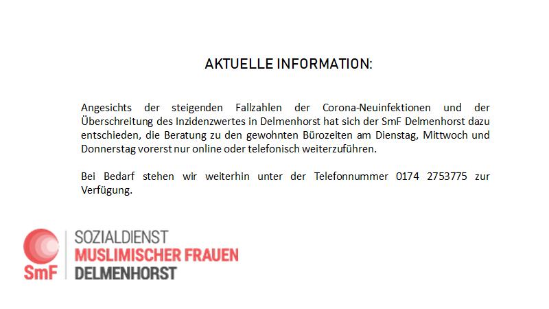 Aktuelle Informationen zur Corona-Lage in Delmenhorst